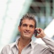 Handsome Man on Call — Stock Photo #7826210