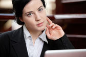 Smart Business Woman — Stock Photo