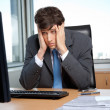 Stressed Out Businessman - Foto Stock