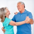 Happy Couple Dancing — Stock Photo