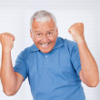 Cheerful Senior Man - Stock Photo