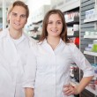 Portrait of Pharmacist Technicians — Stock Photo #7947848