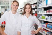 Portrait of Pharmacist Technicians — Stock Photo