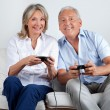 Couple Playing Video Game — Stock Photo