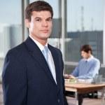 Confident Male Executive — Stock Photo