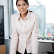 Smiling Female Executive — Stock Photo #7954875