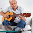 Man Playing Guitar — Stock Photo #7956103