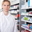 Stock Photo: Portrait of Male Pharmacist