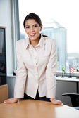 Smiling Female Executive — Stock Photo