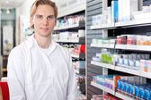 Portrait of Male Pharmacist — Stock Photo