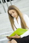 Podnikání žena — Stock fotografie