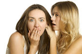 Women's secrets — Stock Photo