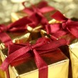 Stock Photo: Many gifts