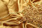 Złoto święta — Zdjęcie stockowe