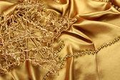 Gold weihnachten — Stockfoto