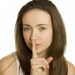 Shhhhh — Stock Photo #7686750