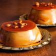 Creme caramel desserts closeup — Stock Photo #7000872