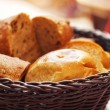 Stock Photo: Bread in a basket