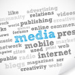 Media and Press — Stock Photo