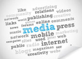 Media and Press — Stock Photo