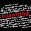 Management consulting — Vettoriale Stock #6906896