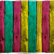 Stock Photo: Abstract Colorful Wood Planks