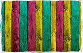 Tablones de madera coloridos abstractos — Foto de Stock