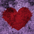 Royalty-Free Stock Photo: Grunge heart