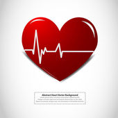 Heartbeat — Stock Vector