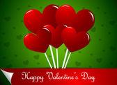 Heart shaped lollipops — Stock Vector