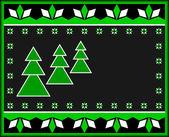 Tarjeta de navidad. — Vector de stock