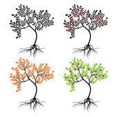 Apple-tree. — Stock Vector