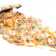 Lot of gold jewelry — Stock Photo #7092177