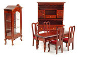 Muebles de madera — Foto de Stock