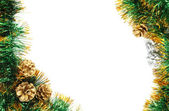 Christmas frame — Stok fotoğraf