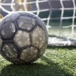 Soccer ball on the field — Stock Photo #7226007