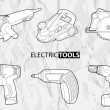 Electric tools — Stock Vector #6949285