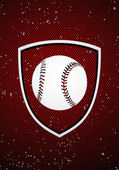 Baseball odznak — Stock vektor