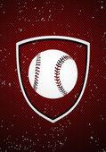 Honkbal badge — Stockvector