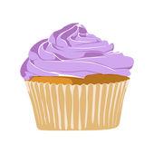 Cupcake — Vector de stock