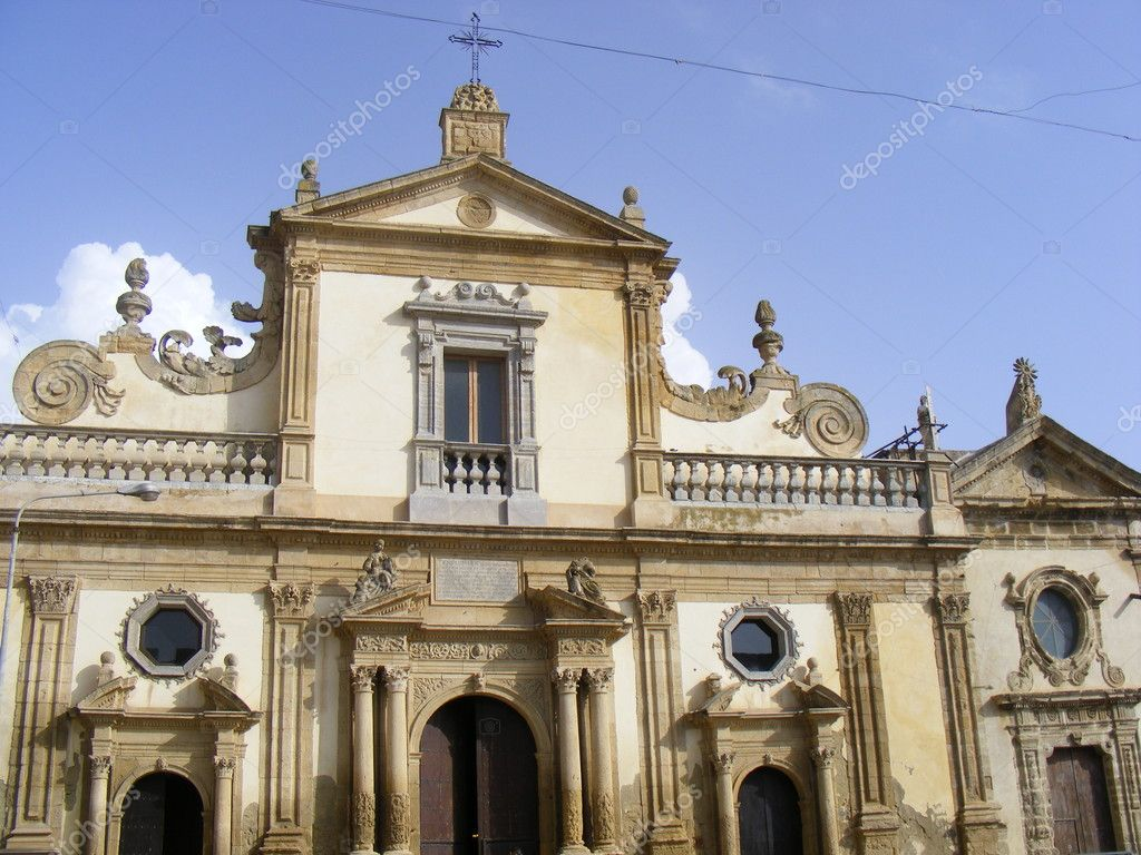 View of the catholic church in Italy  — Stock Photo #7499970