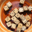 Dice game — Stock Photo