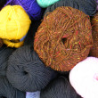 Stock Photo: Balls of wool