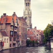 Medieval Belfry of Bruges — Stock Photo #7040903