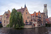 Bruges panoramic view — Stock Photo