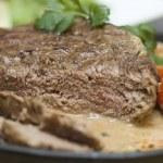 European cuisine - gourmet food close-up — Stock Photo