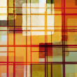 Abstract lines and paint squares pattern — Stock Photo