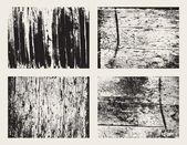 набор текстур деревянные гранж — Cтоковый вектор