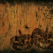 Grunge halloween background — Stock Photo #7042793