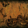 Stock Photo: Grunge halloween background